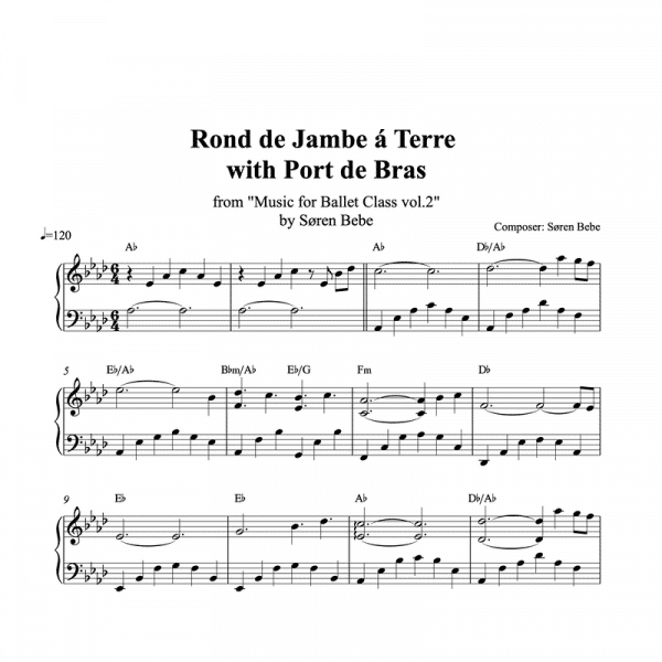 rdj sheet music pdf