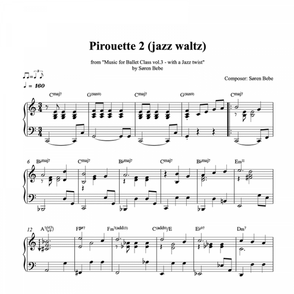 pirouette waltz piano sheet music pdf