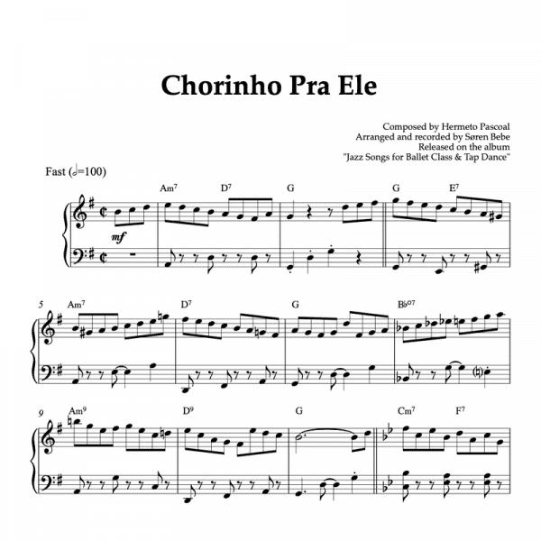 chorinho pra ele hermeto pascoal piano sheet music pdf