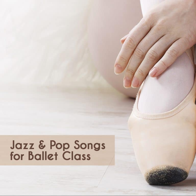 cd with jazz and pop songs for ballet class