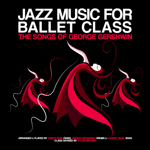 cd with jazz music for ballet class