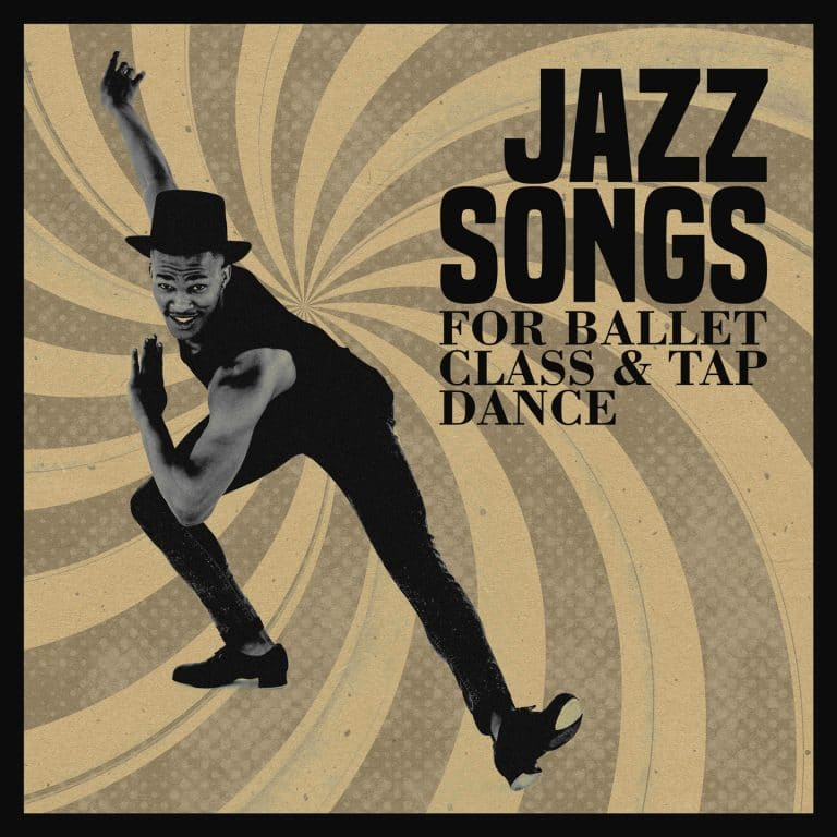 cd with famous jazz songs for ballet class and tap dance
