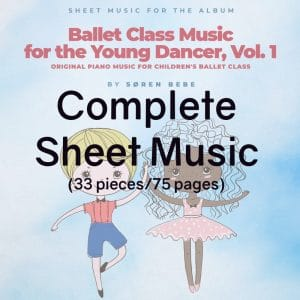 piano sheet music for childrens ballet classes pdf