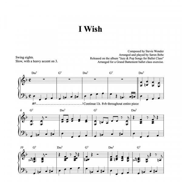 i wish stevie wonder piano sheet music pdf