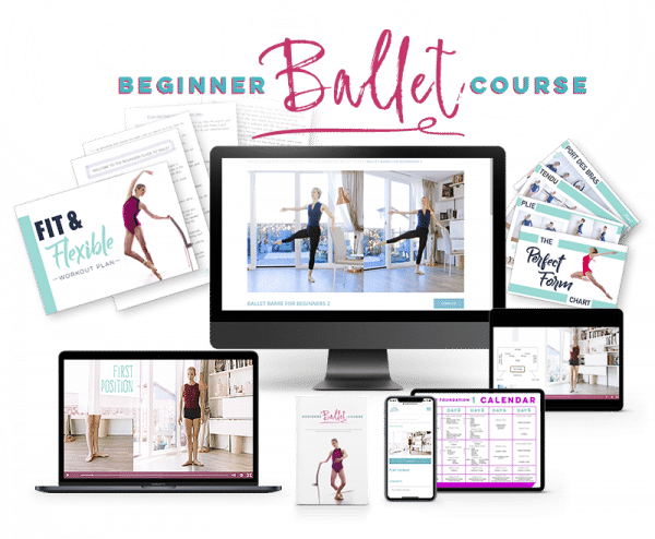 online beginner ballet course with community by alessia lubogoni from lazy dancer tips