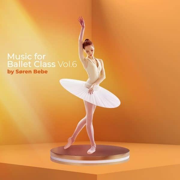 music for ballet class vol.6 album cover by soren bebe