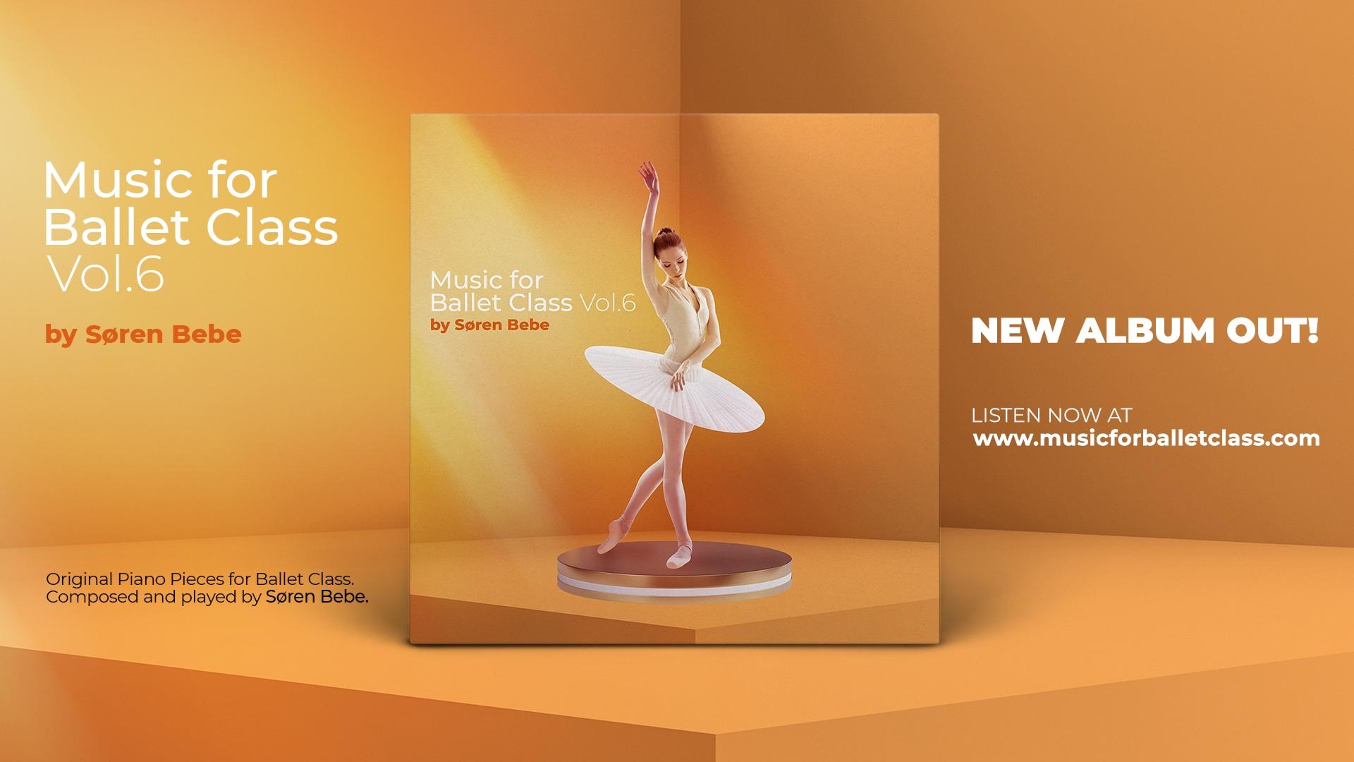 music for ballet class vol.6