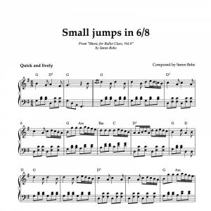 6/8 sheet music
